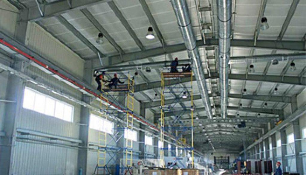 Fabrika Havalandırma
